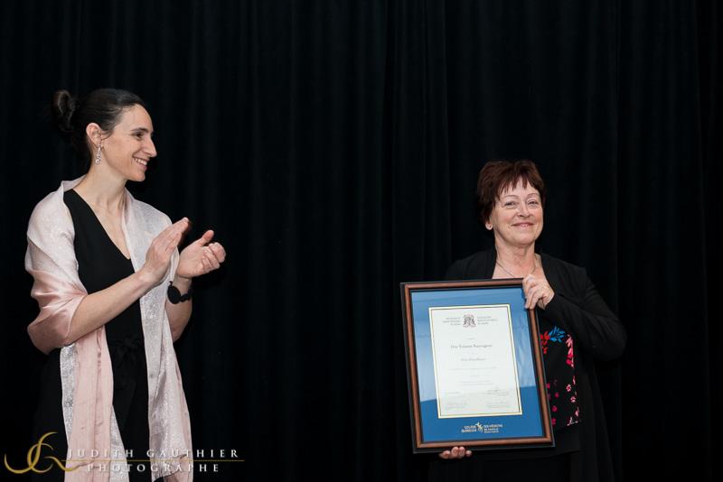 Prix d'excellence 2019 – Dr Yolaine Sauvageau